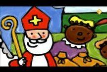 Sinterklaas boeken en digibord / Sinterklaas
