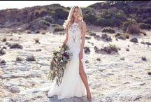 Bohemian Wedding Dresses / Inspiration for brides looking for bohemian wedding style dresses.