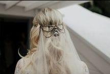 Bohemian Bridal Headpieces / Bohemian inspiration for boho wedding headpieces.