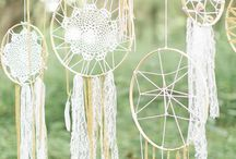 Bohemian Wedding Decor Ideas / Ideas and inspiration for bohemian wedding decor.