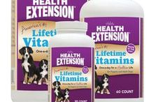 Health Extension Vitamins & Supplements for Puppies & Adult Dogs / Keep your pet healthy with Health Extension Vitamins and Supplements!