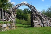 Ландшафт: ограды, ворота, перголы, навесы