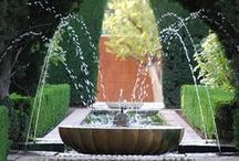 Ландшафт: водоемы и фонтаны