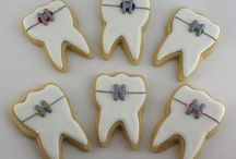 Toothy Treats! / Tooth shaped treats! Just be sure to brush afterwards! (;