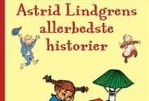 Illustrations from books written by Astrid Lindgren / illustrations