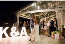 Boho Wedding Reception / Bohemian wedding reception ideas.