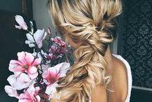 Boho Wedding Hair / Boho wedding hair inspiration.