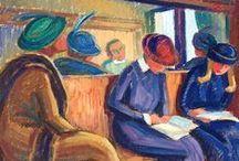 art - ride by train