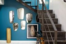 Stylish Stairways / Stairways are often over looked but can make a great statement in your home.  IndustrialEnvy.com