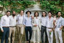 Boho Groomsmen Style / Inspiration for boho groomsmen.