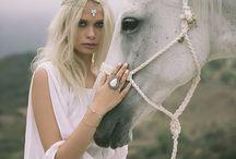 Boho Wedding Jewelry / Bridal jewelry inspiration for a boho wedding.