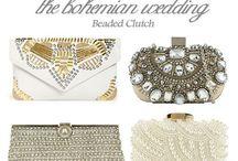 Boho Wedding Handbags / Handbag inspiration for every boho bride.