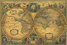 PRINTABLE - VINTAGE MAPS, PLACES , LUGGAGE LABELS, HOTELS....
