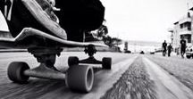 Skateboard / The most certain way to succeed is always to try one more time.