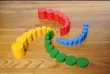 Activités Montessori / Activités basées sur la pédagogie Montessori  / by Prendre le temps ...