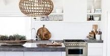 Kitchens / Kitchen styling and layout ideas