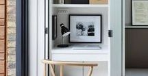 Office Spaces / Home office styling and layout ideas