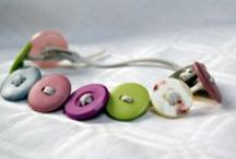 my works... buttonslove /  I would love to introduce to you these button-jewellery-creations made by my own crafty  hands!