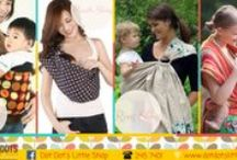 Babywearing / Variety of babywearing range distributed and available in store