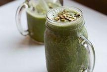 Food: Beverages: Green Smoothies