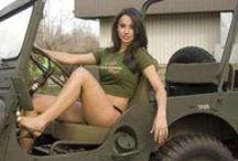 Military, Vehicles on Wheels / Wielvoertuigen