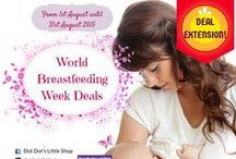 DDLS's World Breastfeeding Week Deals 2015 / Happy World Breastfeeding Week!  It has been a little tradition at DDLS for the last 5 years to participate in the annual WBW event. Past activities included WBW Mothers gathering, event sponsorships, product showcase, talks at clinics to name a few. This time around, we are running a WBW2015 In-Store Deals ranging from apparels to essential aids.  We have extended our deal for the entire month of August. Valid for in-store purchases between 1st August 2015 - 31st August 2015 :)