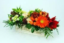 Centrepieces / One of the things we do at Full Bloom Flowers is create wonderful arrangements for weddings, wedding ceremonies, Bridal bouquets, and any special event or occasion. We at Full Bloom Flowers create art through design and flower arrangements.
