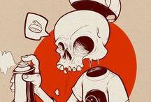 teschi / skulls / Skulls illustrations