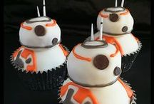 Star Wars Recipes / Star Wars Recipe ideas: cupcakes, cookies, and nerdy treats! Everything you need for a Star Wars Party (or May the fourth party)!