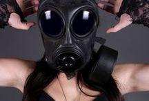 Military, Gasmaskers / Gasmask