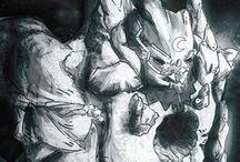 Golem by Masonry / Massoneria Creativa / Illustrations about the Golem by Masonry / Massoneria Creativa