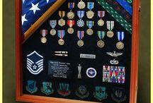 Military, Shadow-box / Retirement-box