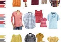 *Idées tenues séance photo* / Quelques idées d'associations de couleurs pour vos séances photos