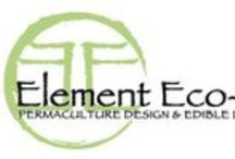 Element Eco-Design / Our Permaculture Work, Projects and Experiences.