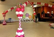 Canopies & Ceiling Balloons