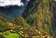 """Lovely Places - Peru / """"Déjame que te cuente, limeña déjame que te diga la gloria del ensueño que evoca la memoria del viejo puente, del río y la alameda."""" Chabuca Granda"""