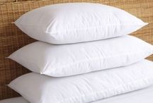 All Finer Things Pillows (Hypo-allergenic collection) / All Finer Things: Washable, Hypo-allergenic and because of our zip - each pillow is also adjustable.  Casings are 100% 233tc Down-proof cotton. Filling is a comforelle which is siliconized cotton-type fibre and is spring-like that stops the pillow from clumping or going flat. Buy Now online:- http://www.allfinerthings.com