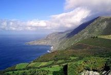 """Lovely Places - Galicia / """"Adiós, ríos; adiós fontes; adiós, regatos pequenos; adiós, vista dos meus ollos, non sei cando nos veremos."""" Rosalía de Castro"""