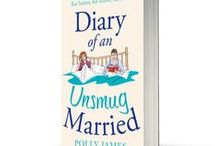 """Diary of an Unsmug Married"" Covers and Inspirations / The characters from the book...or the things that I associated with them."