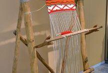 telar / weaving 1. técnicas, tutoriales / INSPIRACION Y GUIA,...He dividido este tablero en dos, dado la gran cantidad de pines que he ido encontrando. Uno para técnicas y tutoriales GUIA y el otro, decorativo  y de prendas INSPIRACION..  / by ELLY