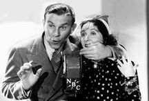 Burns and Allen / George Burns and Gracie Allen began their career in 1922 with a series of Vaudeville acts. Their classic park bench act took them through stage performances, radio shows and tv.