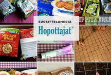 Tuotetestailuja Hopottajana / Tähän tauluun kokoan kokemuksiani Hopottajana testaamistani tuotteista. www.hopottajat.fi