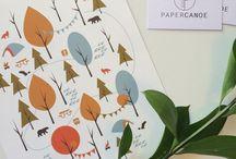 Paper Canoe   Art