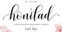 Font Lettering / Hand Lettering, Designer & Typography