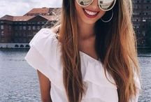 Summer looks / Summer looks. Fashion for women. Spring looks. Summer outfits.