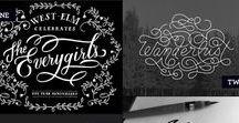 Font Calligraphy / Fonts