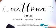 Font Script / Fonts