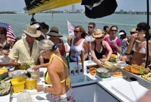 Corporate Charters on Clearwater Beach / Corporations and Organizations enjoy a relaxing cruise aboard the Kai Lani Catamaran