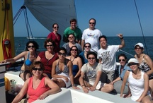 Clearwater Beach Private Charters on Kai Lani Catamaran / Whether it's incentives and team building events or award ceremonies or after a long seminar. What better way to promote good relations than with a corporate sailing cruise. A time to put your cell phone down for a while and enjoy planning your goals and how to get there, all with a clear mind and a relaxed body. Perfect for your next move.