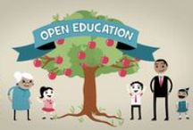Open Education #openedu / Free and open sharing. Free, meaning no cost, and open, which refers to the use of legal tools (open licenses) that give everyone permission to reuse and modify educational resources.